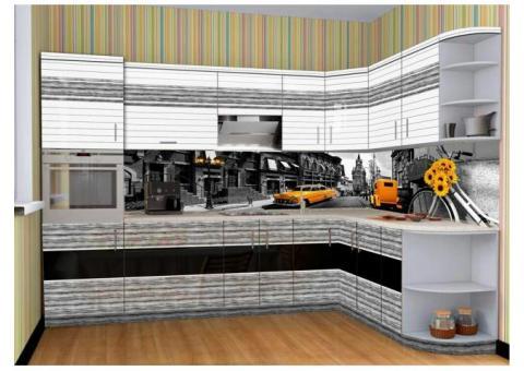 Высокоглянцевые стеновые панели на основе мДФ с фотопечатью